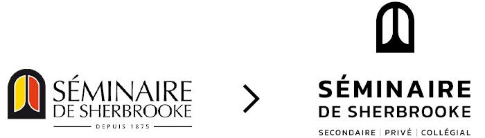 Refonte du logo du Séminaire de Sherbrooke